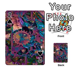 Steampunk Abstract Playing Cards 54 Designs