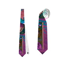 Steampunk Abstract Neckties (one Side)