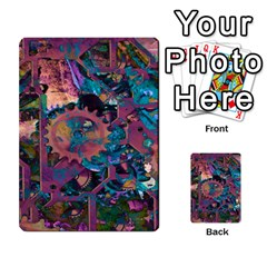 Steampunk Abstract Multi Purpose Cards (rectangle)