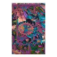 Steampunk Abstract Shower Curtain 48  X 72  (small)
