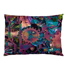 Steampunk Abstract Pillow Cases (two Sides)