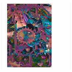 Steampunk Abstract Large Garden Flag (Two Sides)
