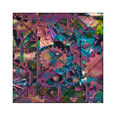 Steampunk Abstract Acrylic Tangram Puzzle (6  X 6 )
