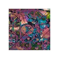 Steampunk Abstract Acrylic Tangram Puzzle (4  X 4 )
