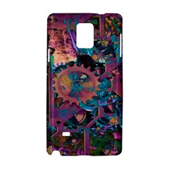 Steampunk Abstract Samsung Galaxy Note 4 Hardshell Case