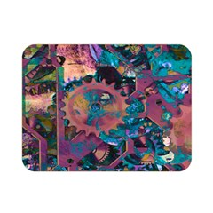 Steampunk Abstract Double Sided Flano Blanket (mini)