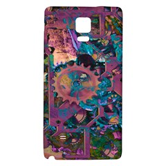 Steampunk Abstract Galaxy Note 4 Back Case