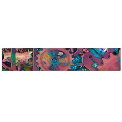 Steampunk Abstract Flano Scarf (Large)