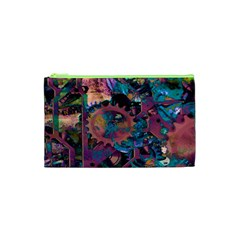 Steampunk Abstract Cosmetic Bag (XS)