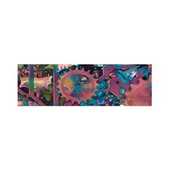 Steampunk Abstract Satin Scarf (Oblong)