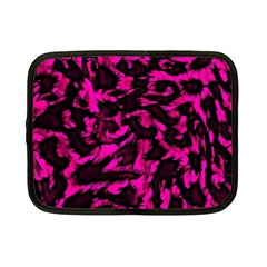 Extreme Pink Cheetah Abstract  Netbook Case (small)