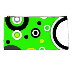 Florescent Green Yellow Abstract  Pencil Cases