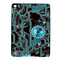 Steampunk Gears Turquoise iPad Air 2 Hardshell Cases