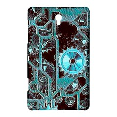 Steampunk Gears Turquoise Samsung Galaxy Tab S (8.4 ) Hardshell Case