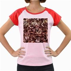 Steampunk 4 Soft Women s Cap Sleeve T-Shirt