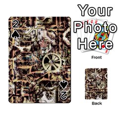 Steampunk 4 Soft Playing Cards 54 Designs
