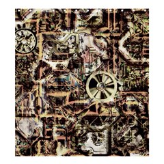 Steampunk 4 Soft Shower Curtain 66  x 72  (Large)