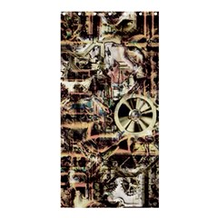 Steampunk 4 Soft Shower Curtain 36  X 72  (stall)