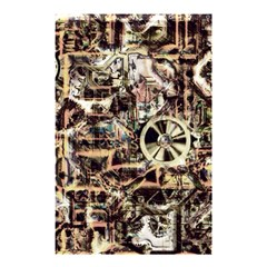 Steampunk 4 Soft Shower Curtain 48  x 72  (Small)