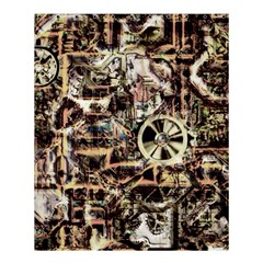 Steampunk 4 Soft Shower Curtain 60  x 72  (Medium)