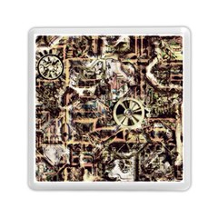 Steampunk 4 Soft Memory Card Reader (square)