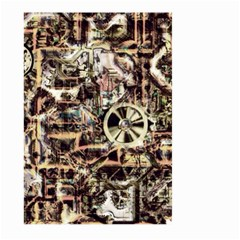Steampunk 4 Soft Large Garden Flag (Two Sides)