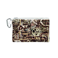 Steampunk 4 Soft Canvas Cosmetic Bag (s)