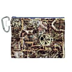 Steampunk 4 Soft Canvas Cosmetic Bag (XL)