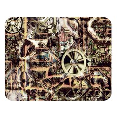 Steampunk 4 Soft Double Sided Flano Blanket (large)