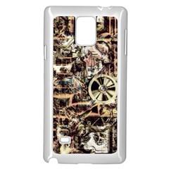 Steampunk 4 Soft Samsung Galaxy Note 4 Case (White)