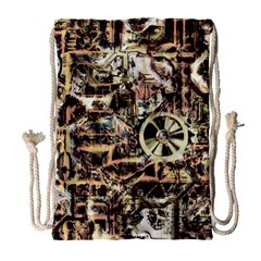 Steampunk 4 Soft Drawstring Bag (large)