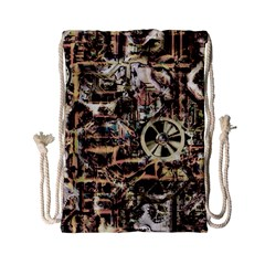 Steampunk 4 Soft Drawstring Bag (small)