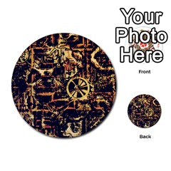 Steampunk 4 Multi Purpose Cards (round)