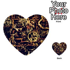 Steampunk 4 Multi Purpose Cards (heart)