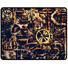 Steampunk 4 Fleece Blanket (Medium)