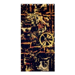 Steampunk 4 Shower Curtain 36  x 72  (Stall)