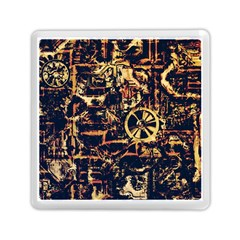 Steampunk 4 Memory Card Reader (square)