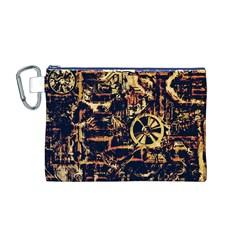 Steampunk 4 Canvas Cosmetic Bag (M)