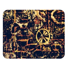 Steampunk 4 Double Sided Flano Blanket (Large)