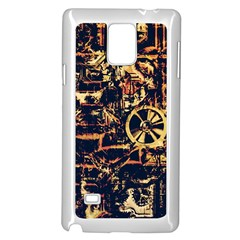 Steampunk 4 Samsung Galaxy Note 4 Case (White)
