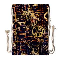 Steampunk 4 Drawstring Bag (large)