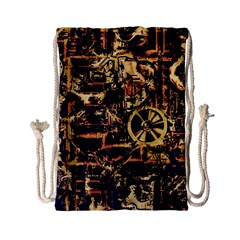 Steampunk 4 Drawstring Bag (Small)