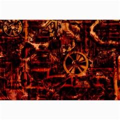 Steampunk 4 Terra Collage 12  x 18