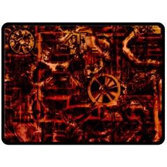 Steampunk 4 Terra Fleece Blanket (Large)