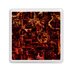 Steampunk 4 Terra Memory Card Reader (Square)