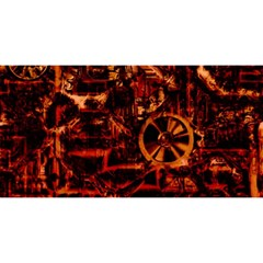 Steampunk 4 Terra YOU ARE INVITED 3D Greeting Card (8x4)