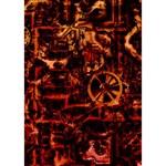 Steampunk 4 Terra Clover 3D Greeting Card (7x5)  Inside