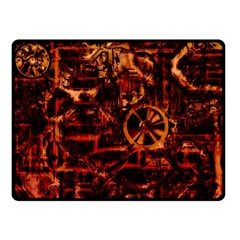Steampunk 4 Terra Double Sided Fleece Blanket (Small)