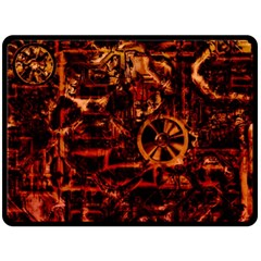 Steampunk 4 Terra Double Sided Fleece Blanket (Large)