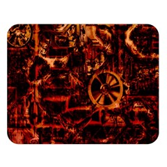 Steampunk 4 Terra Double Sided Flano Blanket (large)